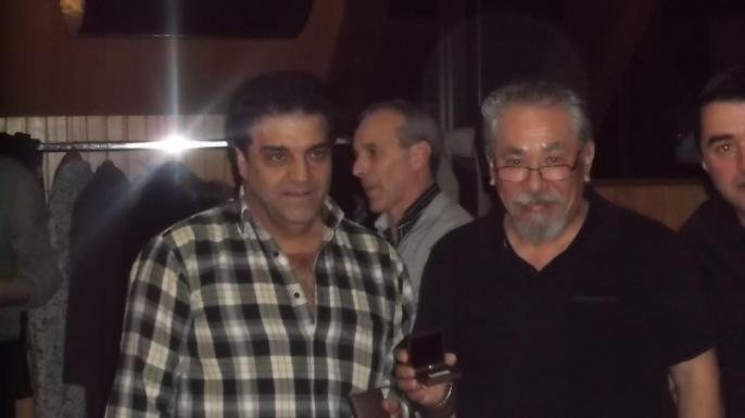 Mr José Mendes et Mr Theng Reynald